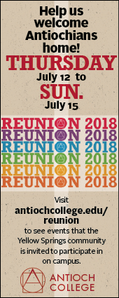 Check out the 2018 Antioch College Reunion schedule