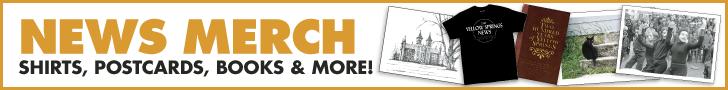 2021 Yellow Springs News Merchandise
