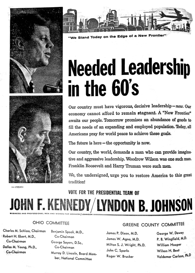 Needed Leadership in the 60s