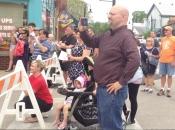 flash mob crowd