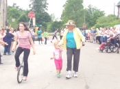 unicycle flash mob
