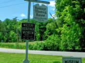 heritage museum sign