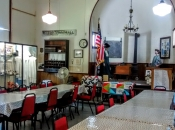 tables in heritage hall