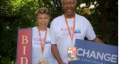 Betty and Jim Felder returned home recntly after having served as volunteers at the Democratic National Convention.
