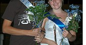 YSHS exchange student Anders Ingebrigtsen and senior Amelia Tarpey were named the 2008 Homecoming king and queen last Friday night., Sept. 19, at halftime ceremonies. The Bulldogs beat the Ridgemont Gophers 23–22 in an exciting Homecoming game in which the Bulldogs pulled out a last-minute win with a field goal by Joe Fugate.