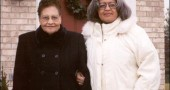 Village Council Clerk Deborah Benning, right, with her mother, the late Etta Belle Harris. Deborah died on Nov. 24 of ovarian cancer.