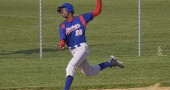 Ameer Wagner runs the bases