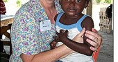 Nurse midwife Cindy Farley spent a week in March in Haiti volunteering medical services to residents of the earthquake-torn city of Port-au-Prince. She will give a talk with slides of her visit at a Presbyterian church soup supper fundraiser on Friday, April 16, 5–7 p.m. Tickets are $7; kids under 5 free.