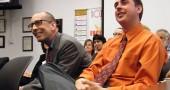 Tim Krier, left, and Matt Housh, right