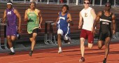 Mario Cosey at the Wayne Invitational