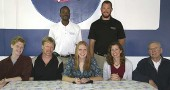 Reini Brickson signs with Lindsey Wilson College