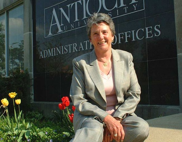 "Under the leadership of Chancellor Toni Murdock, Antioch University spent the past year restructuring the administration of its satellite campuses and learning to function as ""a university of one."" (Photo by Lauren Heaton)"
