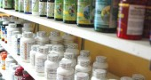 Vitamins at the Vitamin Outlet at the Yellow Springs News