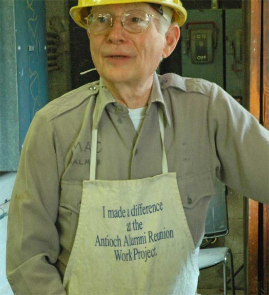 Mac Palmer, class of '61, conceived of the work project idea. (Photo by Megan Bachman)