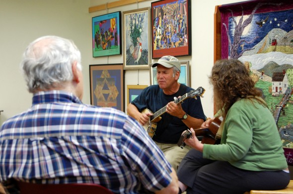 Ann and Phil Case performing Appalachian Folk Music
