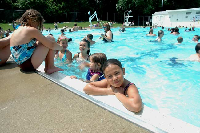 All the cool is in the pool