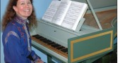 Mary Fahrenbruck will perform early music on the harpsichord on Saturday, April 5, at noon at Antioch University McGregor's National City Auditorium. The concert and lecture about the harpsichord, built by Ray Olds, is one of three events to inaugurate a revival of the Early Music Center in Yellow Springs.