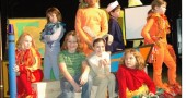 YS Kids Playhouse will presents 'The Velveteen Rabbit,' with Yellow Springs youth, from left, Abigail Dawson, Evening Hudson, Zane Pergram, Kennedy Harshaw, Julia Tarpey, Ursula Kremer, Josh Seitz, Evelyn Greene, Charlotte Walkey and Greta Kremer.