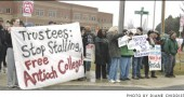 demonstration for Antioch College