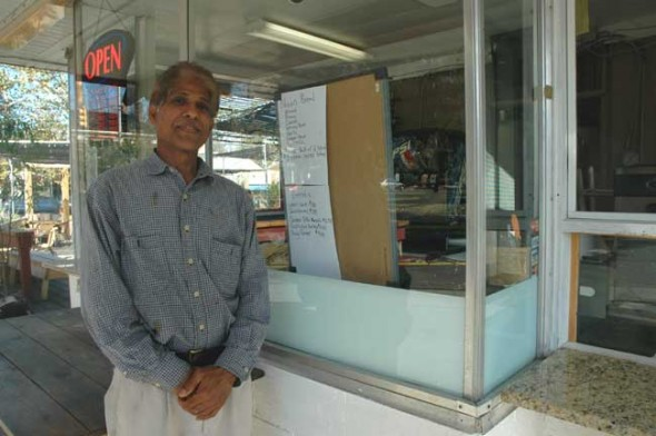 On Thursday, Oct. 21, Askhilesh Nigam opened the Indian Food Corner, a new take-out restaurant on the Corner Cone premises.