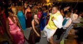 Students in Charleston, Mississippi dance at their first racially integrated prom in the 2008 documentary Prom NIght in Mississippi, screening tonight at the Little Art Theatre.