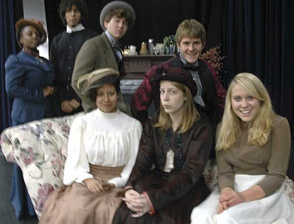 The YSHS Drama Club presents Oscar Wilde's The Importance of Being Earnest tonight at 8 p.m. and tomorrow, Nov. 14, at 2 p.m. in the MIlls Lawn gym.