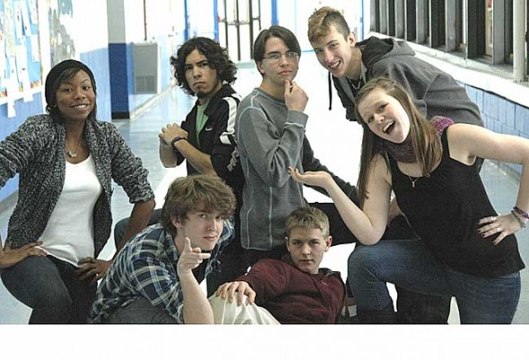 Yellow Springs High School presents the 2011 One Acts this weekend by playwrights, clockwise from left, Lizzy Gonder, Zeb Reichert, Quinn Leventhal, Rory Papania, Lauren Westendorf, Elliot Cromer and Adam Zaremsky. Proceeds from the plays are the major fundraiser for the production of the annual spring musical.