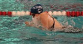 Elizabeth Malone, swimming the breast stroke as part of the 200-yard individual medley, qualified for states in two events.