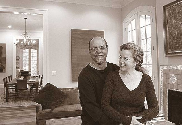 "Erik and Deirdre Owen are turning their palatial Glen Road home into an ""art bed and breakfast"" to accomodate overnight visitors and showcase local art. (Submitted photo by Oona Owen)"