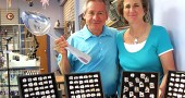 Jose and Connie Soto recently opened Artistic Silver on Dayton Street at the site of the former Sugar Cubes. The store sells Jose's original jewelry, along with other offerings. (Photo by Sehvilla Mann)