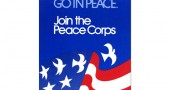 Battle's design for the Peace Corps' 10th anniversary poster