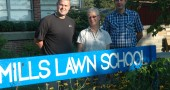 Mills Lawn principal Matt Housh and new teachers Dan West and Carol Culbertson get ready for the new school year, which begins Aug. 24.