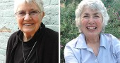 Mary Agna, left, and Macy Reynolds, were recently nominated to the Greene County Women's Hall of Fame for their work in healthcare (Agna) and horticulture (Reynolds). The women will be inducted into the Hall of Fame on Saturday, Sept. 24, at the Walnut Grove Country Club in Xenia. The deadline for reservations is Sept. 17. (Photos by Megan Bachman)