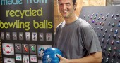 Villager Matt Cole creates jewelry from bowling balls. His original work can be found online at www.matt-cole.com.