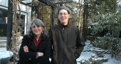 Local garden designer Nadia Malarkey and arborist Bob Moore have teamed up with two organic farmers to put on a free educational series on environmentally friendly landscaping. At sessions on Jan. 30, Feb. 13 and Feb. 27, villagers can learn how to create biodiverse, carbon-neutral and chemical-free landscapes in their yards. (Photo by Megan Bachman)