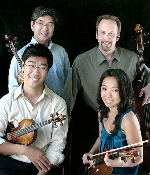 The Johannes String Quartet will perform as part of the Chamber Music Yellow Springs series on Sunday, Feb. 26, at 7:30 at the First Presbyterian Church. The group will play quartets by Mozart, Schumann and Respighi. (submitted photo)
