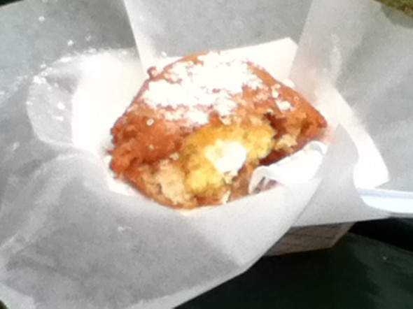 Deep-fried Twinkie in the deep South.