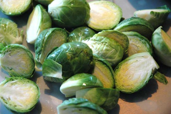 Brussels sprouts have a mild bitterness that is easily tamed with a little olive oil, salt and a grill.