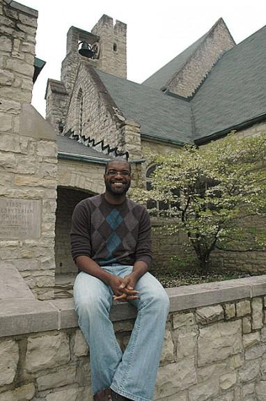 Weston at the First Presbyterian Church.