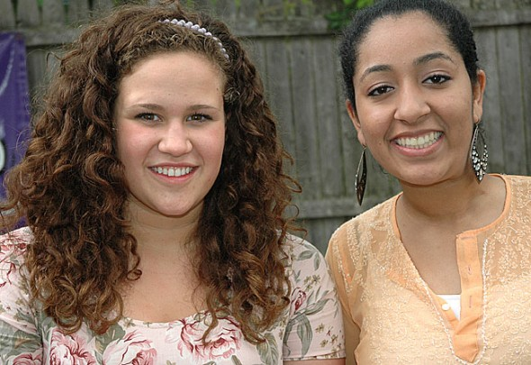Erika Chick was named the valedictorian and Savita Bathija the salutatorian of their YSHS class of 2012. They will speak at graduation at 7 p.m. on Thursday, May 31, at the high school. A story on the honorees will appear in next week's News. (Photo by Lauren Heaton)