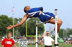 Antone Truss rose to the occasion during his final track and field season in the  spring. The senior high jumper set a new league record of 6'7'' and leaped to a sixth-place finish at states in May.