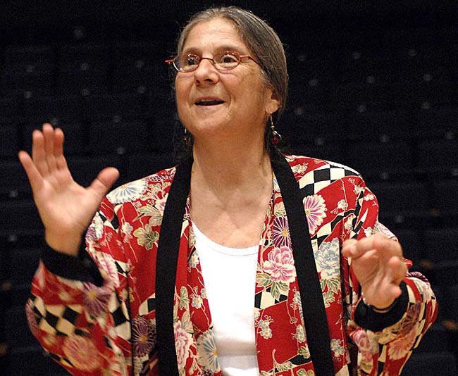 Villager Cathy Roma will lead three choirs in the upcoming 2012 World Choir Games in Cincinnati, July 4–14. (Submitted photo)