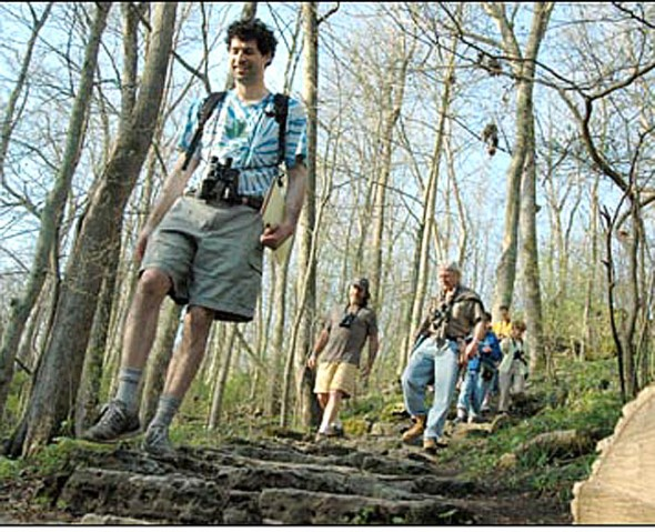 A special hike along the Inman Trail will follow a more than 50-year-old scripted guide written by former Glen Helen Director Ken Hunt on Saturday.
