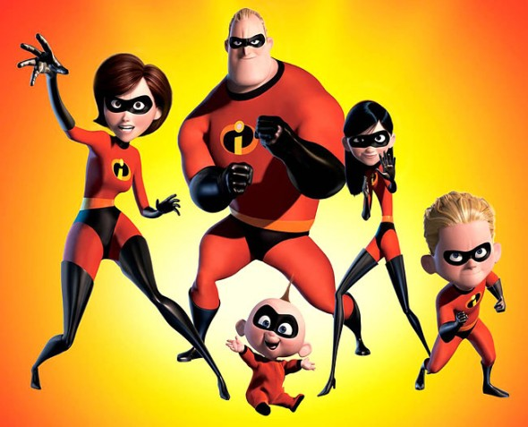 The Incredibles (image courtesy of Pixar)