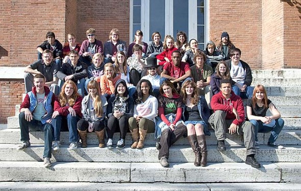 Antioch College's first 35 students gave the college largely high marks after their first year of study. (Submitted Photo by Dennie Eagleson)