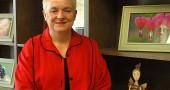 Ellen Wood Hall was named interim vice president of Antioch University Midwest on July 1. (Photo by Lauren Heaton)
