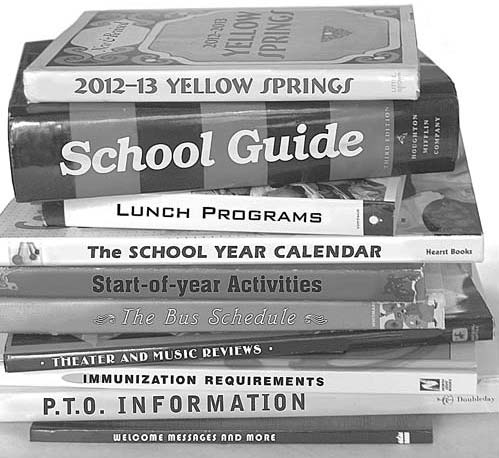 Extra copies of the Yellow Springs School Guide are still available at the News office.