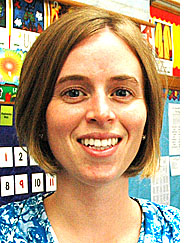 New MLS teacher Megan Bennett.