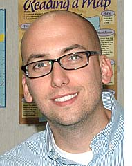 McKinney social studies teacher Cameron McCoy