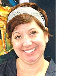 McKinney art and media teacher Karleen Materne